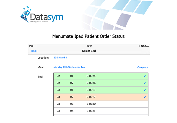 Datasym spark media patient meal ordering 3 of 3
