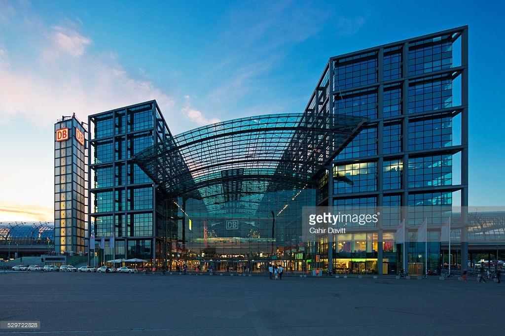 Berlin Hauptbahnhof Image
