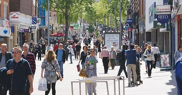 Sutton town centre successful business improvement district