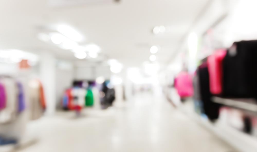 store blur background