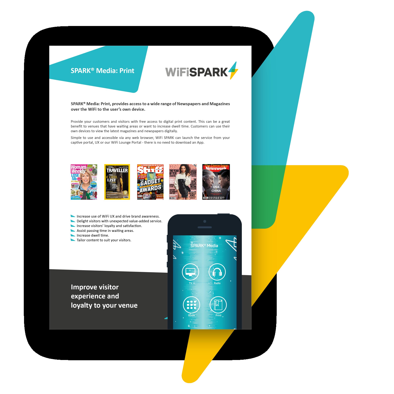 SPARK® Media Print Brochure