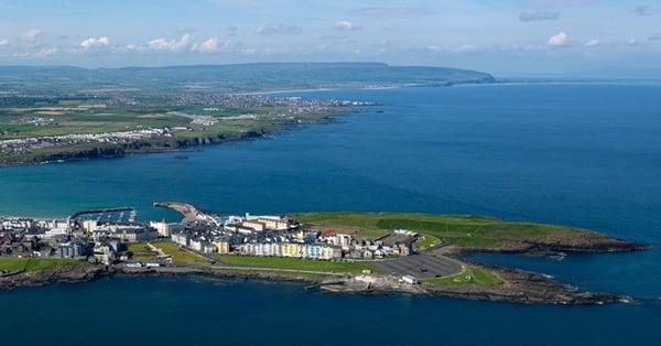causeway coast irish town BID for improvement