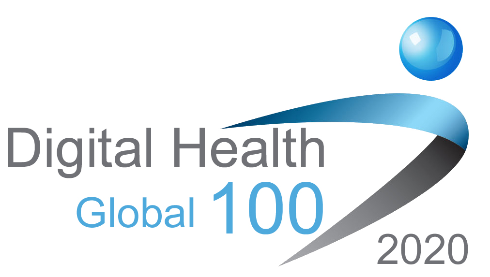 2020 Global Digital Health 100 logo awarded to WiFi SPARK