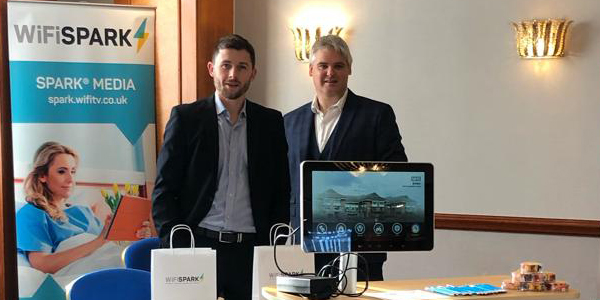 Martyn and Steve at North West Connect 2019